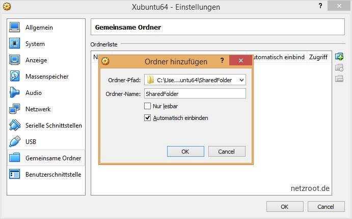 Soll der Gast Dateien nur öffnen können? Falls ja, Haken rein. Erhöht die Sicherheit.