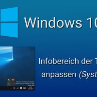 windows 10 system tray taskleiste symbole