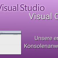 c# konsole programmieren