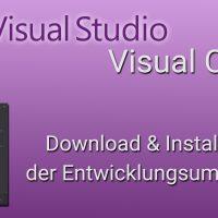 download installation visual studio